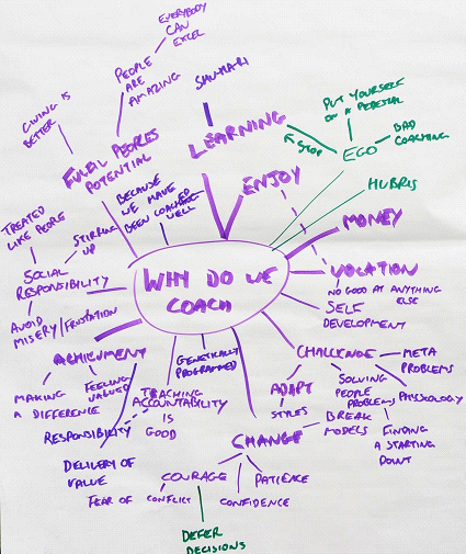 Why do we coach mindmap
